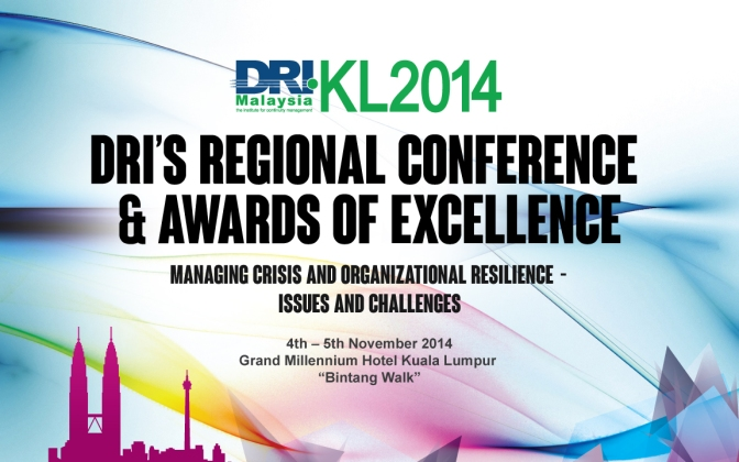 DRI KL2014 Regional Conference & Awards of Excellence