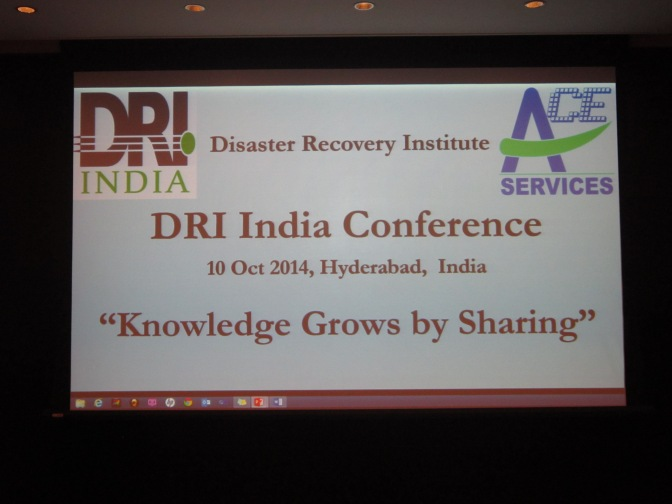 Sharing Knowledge and Increasing Awareness with DRI India