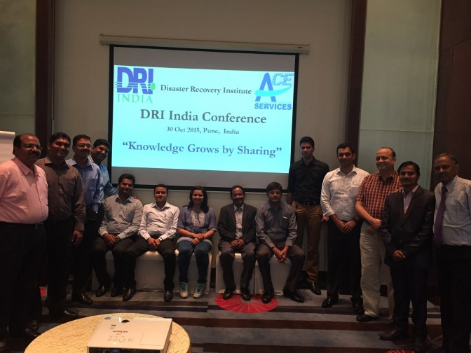 A Participant's Perspective: DRI India Conference at Pune